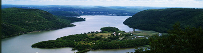 Image of the hudson river