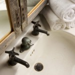 Rustic antique faucet reapired by Hudson river Plumbing