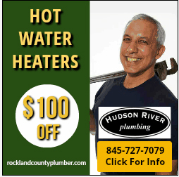 Hudson River Plumbing's Hot water heater sle $100 off Rockland County, NY