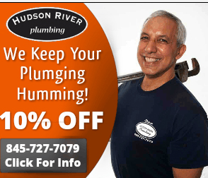 s10% discount for all of Hudson River Plumbing customers in Rockland County