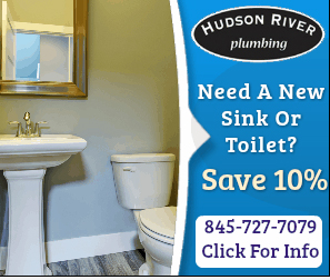 Hudson River Plumbing's sink or toilet discount 10% in Rockland County